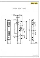 ZZB1/72 lock